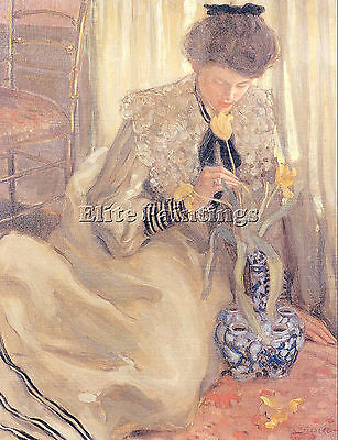Frieseke5 Artist Painting Reproduction Handmade Oil Canvas Repro Wall Art Deco