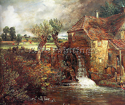 Constable6 Artist Painting Reproduction Handmade Oil Canvas Repro Wall Art Deco