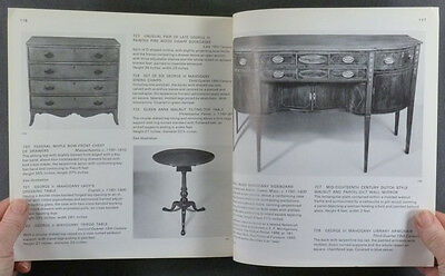 ANTIQUE AMERICAN COLONIAL FURNITURE -WHITING COLLECTION - 1972 SALE CATALOG