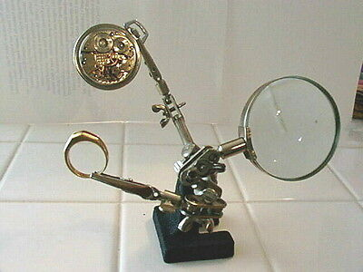 Helping Hands Pocket Watch Pal Magnifying Tool New