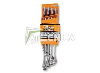 Serie 9 chiavi combinate acciaio inox Beta Tools 42INOX/SC9 inossidabile