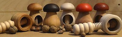 New Wooden Nutcracker - VERY SOLID - 9 types Great Christmas Gift