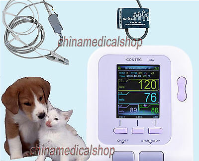 Veterinary Vet Digital Blood Pressure Monitor Heart beat monitor PR Animal use