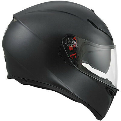 AGV K-3 SV Matt Black Full Face Motorcycle Helmet