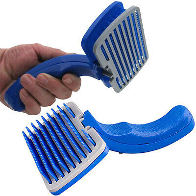 Self Clean Pet Care Hand Grooming Hair Brush Comb Cleaning Dog Puppy Cat Kitten