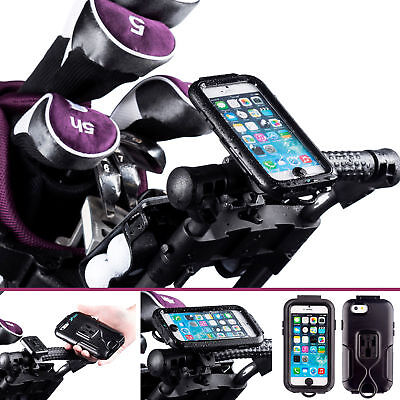 Golf Trolley Quick Fit Lock Mount with Water Resistant  Case for iPhone 6 6s 4.7