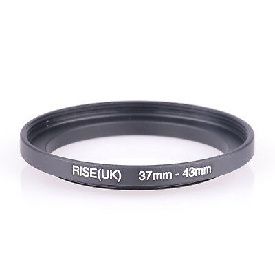 RISE (UK) 37-43 MM 37MM- 43MM 37 to 43 Step UP filter Ring Filter Adapter