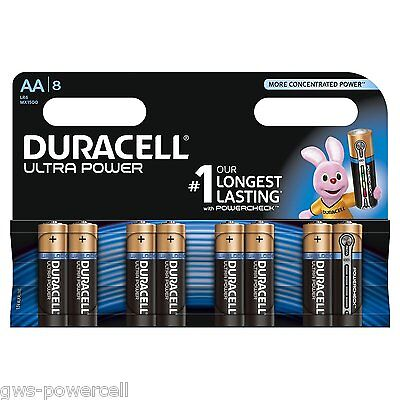 16 x Duracell Ultra Power AA Mignon LR6 MX1500 Batterie Foto Photo - 2 Blister