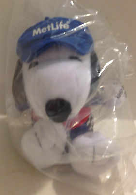 Metlife Advertising Plush Stuffed Racing Snoopy China - New