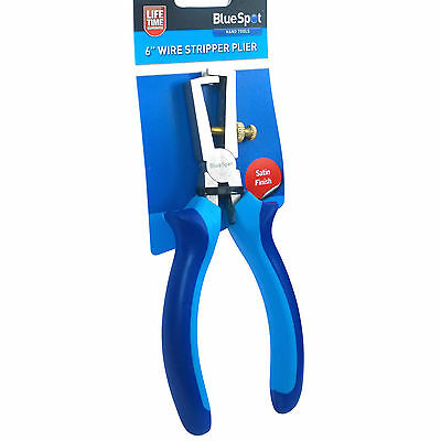 "6"" Electrical Wire Stripping adjustable Wire Strip Pliers. Wire Stripper Plier."