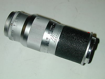 LEITZ LEICA  objectif  M  HECTOR 13.5 cm/ 4.5 photo photographie