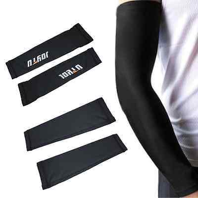1pair Cycling Bike Bicycle Arm Warmers Cuff Sleeve Cover UV Sun Protection