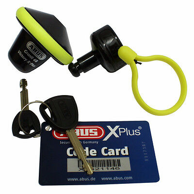 Abus Granit Victory X Plus 68 Roll Up Blocca Disco Perno Moto Scooter Universal