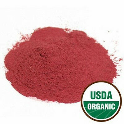 Beet Root Powder Organic  Beta vulgaris  Choose 1 oz 2 oz 1/4 lb 1/2 lb or 1 lb
