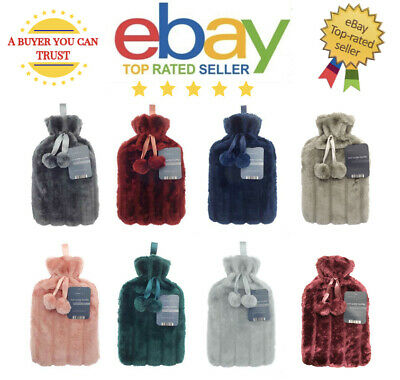 2L Large Hot Water Bottle Fabulous Quality and with Beautiful Removable Covers