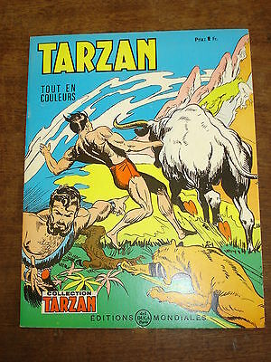 TARZAN n°38- Collection Tarzan- Editions Mondiales Del Duca Paris
