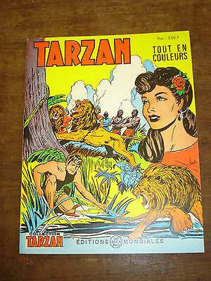 TARZAN n°55- Collection Tarzan- Editions Mondiales Del Duca Paris