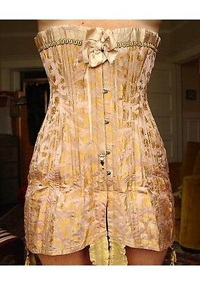 Antique RARE Julio Cotelo Made in Paris Antique Edwardian Corset Renne 1908-1912