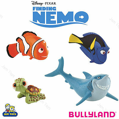 Disney Pixar Finding Nemo Figures Figurines Toy Cake Topper Bullyland Dory Bruce