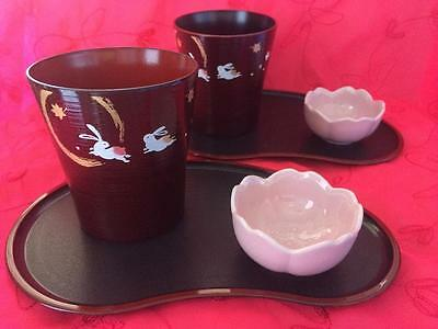 Japanese Drink Set For Two