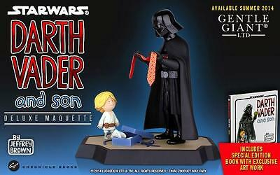 Star Wars Darth Vader And Son Statue, Gentle Giant, Maquette, Father's Day! Jedi
