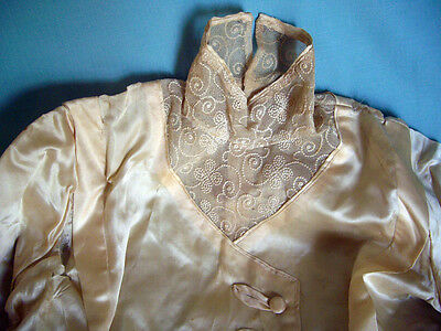 Edwardian Silk & Lace Wedding Blouse