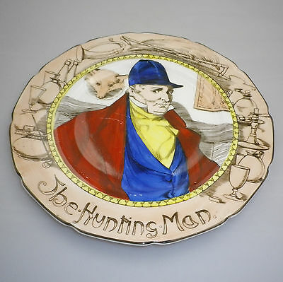 Royal Doulton Series Ware THE HUNTING MAN Rack  Plate