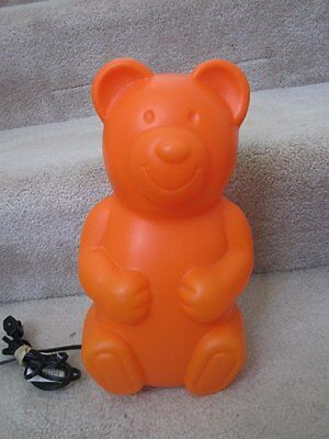 Gummi Bear Plastic Lamp Light Orange
