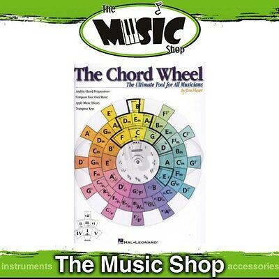 New The Chord Wheel Music Tuition Book - Ultimate Tool for Musicians