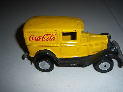 CAST IRON COCA COLA OLD TIME  DELIVERY TRUCK