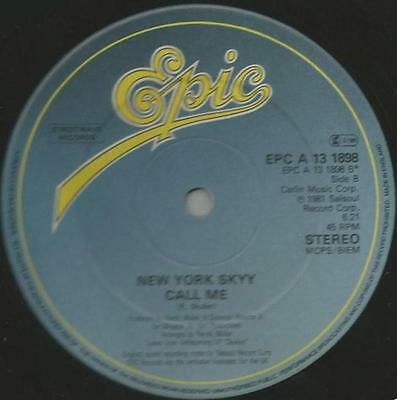 New York Sky - Call Me / Lets Celebrate - Soul / Funk