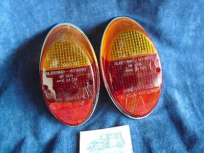 Vw Maggiolino  61-67  Fanali Lenti Altissi Tail Light Lenses   Kafer Beetle Nos