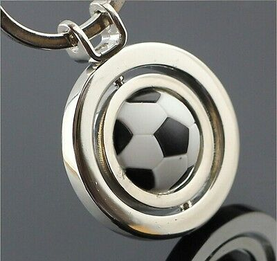 Fashion Classic 3D Sports & Leisure football rotation key ring key chain NO2