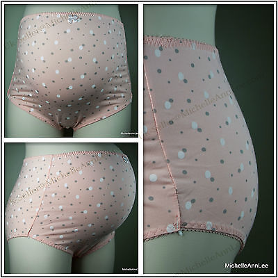 K16 Pregnancy Maternity Over Bump Briefs Pants Cotton Rich Size 8-22 UK Fast P&P