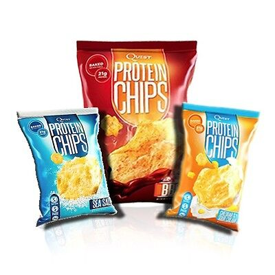 Quest Protein Chips | 21g Protein Per Pack!
