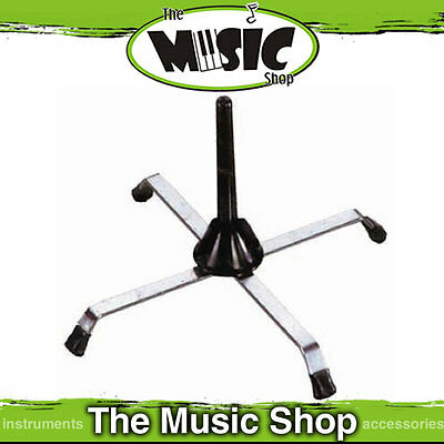 New CPK Clarinet or Flute Stand - Nickel Plated Frame with Peg - BWA80