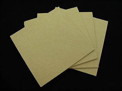 "50 - 12.25"" x 12.25"" Corrugated Filler Pads For LP Record Mailer Boxes"