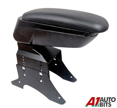 Universal Black Leather Arm Rest Car  FOR OPEL  VECTRA AGILA ASTRA COMBO