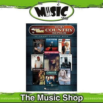 New EZ Play #19 Top Country Songs Piano Music Book - Easy Play E-Z