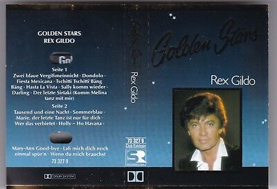 Mc Rex Gildo-Golden Stars-16 Titel Best Of Club Exclusic-Audio Kassette Tape