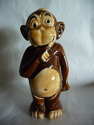 Porcelain Drunken Monkey Whiskey Decanter
