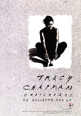 TRACY CHAPMAN Crossroads PHOTO Print POSTER New Beginning Fast Car 001