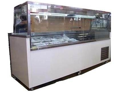 1.8m deli display - custom made, sandwich bar