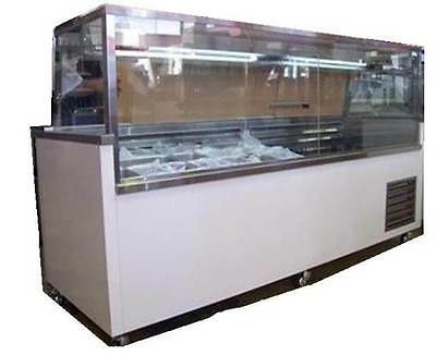 2.4m deli display - custom made, sandwich bar