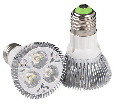 Ultra Bright Dimmable 9W 3X3W PAR20 E27 LED Spotlight Bulb WARM White Down Lamp