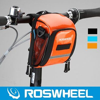 Waterproof Bicycle Bag Bike Cycling Front Frame Tube Handlebar Pannier Pouch