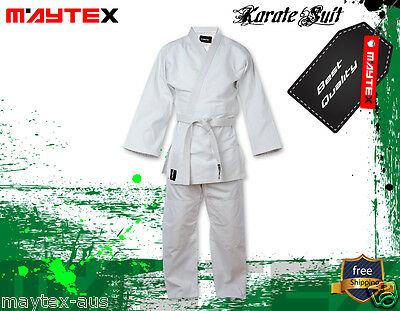 KARATE UNIFORM SIZE 1/140 BEST QUALITY & FIT UNIFORMS 8oz 100%  COTTON