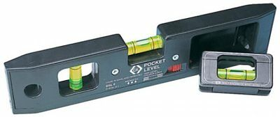 CK TOOLS T3482 Mini Pocket Spirit Level detachable line C.K - FREE P+P