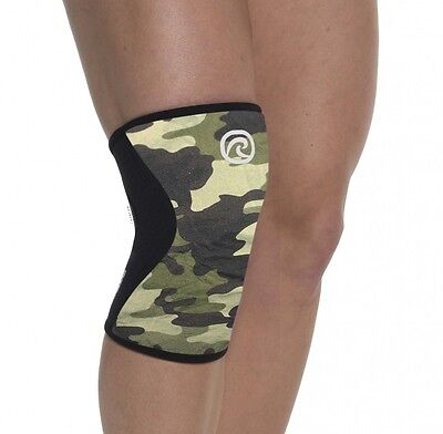 CROSSFIT KNEE SUPPORT REHBAND 7751 Rx CORE LINE KNIEBANDAGE - Camo