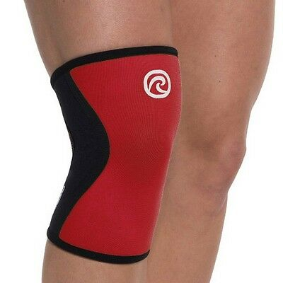 CROSSFIT KNEE SUPPORT REHBAND 7751 Rx CORE LINE KNIEBANDAGE - Red (5mm) Weight